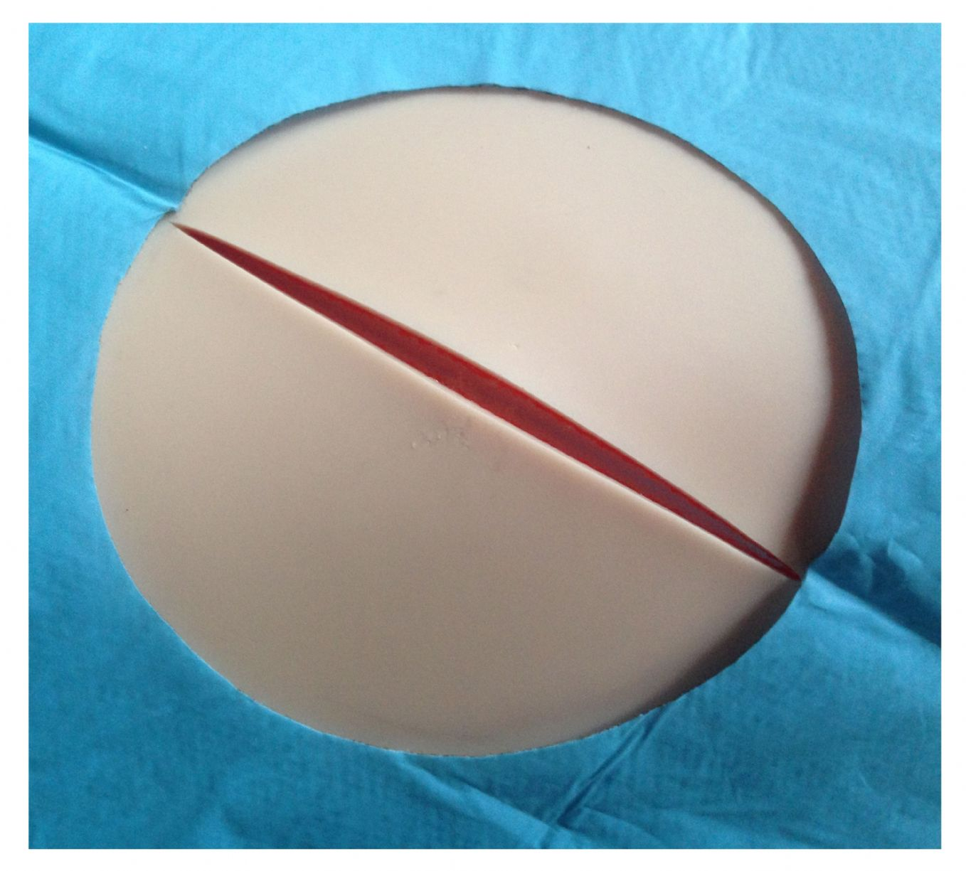 Suture Practice Kit 3 Layer Pad Gold